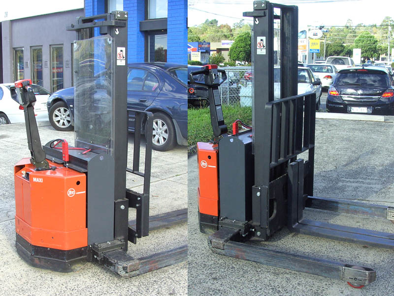 BT Raymond 1.2 Tonne Secondhand Used Walkie Stacker Forklift