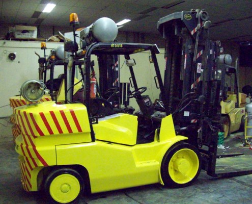 Hoist 8 Tonne Secondhand Used Forklift for sale