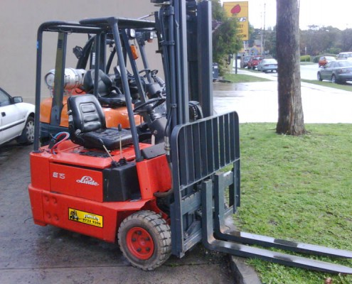 Linde 1.5 Tonne Electric Used Forklift