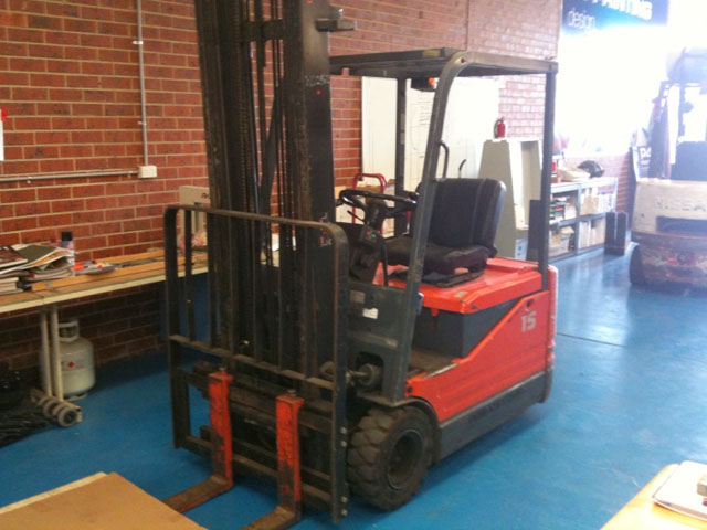 toyota 1.5 tonne electric forklift