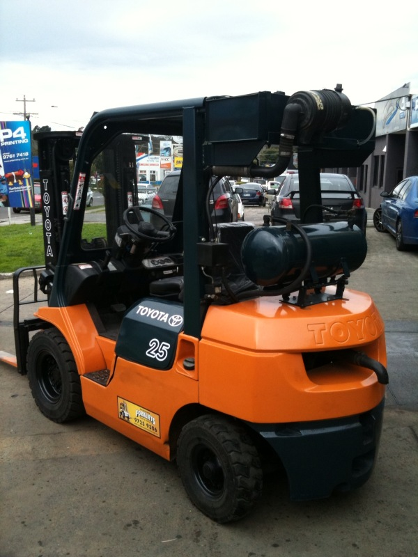 Toyota 2.5 Tonne Flame Proof Used Forklift