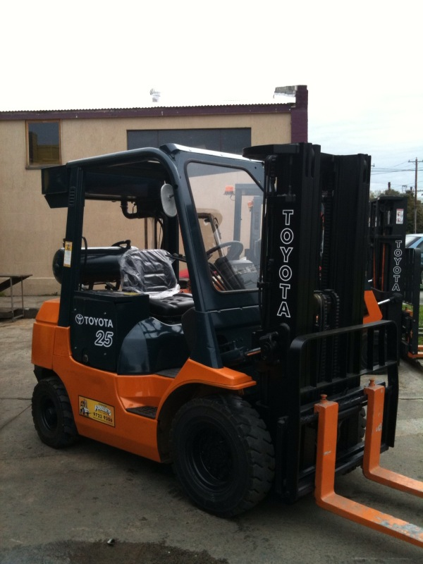 Toyota 2.5 Tonne Flame Proof Used Forklift Front