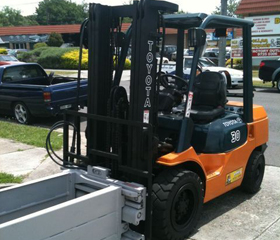 Used Forklift | Toyota 7 Series 3 Tonne Wool Grab