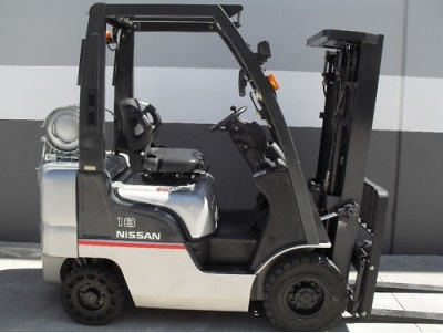 Nissan 1.8 tonne lpg current model forklift