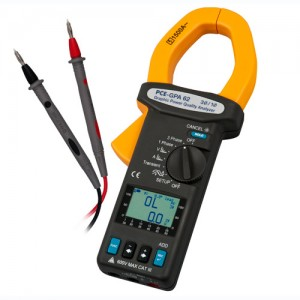 forklift electronic 3 phase battery clamp meter yellow and black high voltage battery regeneration tester