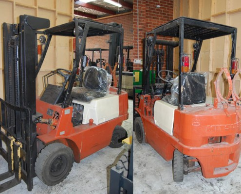 Mitsubishi 1.5 Tonne LPG Used Forklift for sale