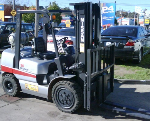 Nissan Flexi 3 Tonne LPG Secondhand Used Forklift