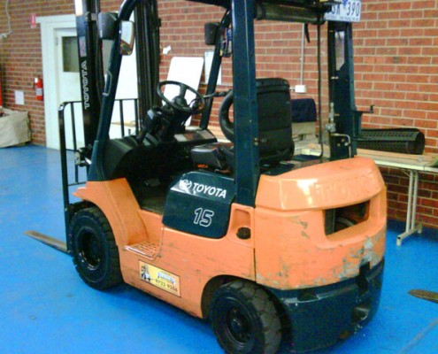 Toyota 1.5 Tonne 7 Series Used Forklift for Sale