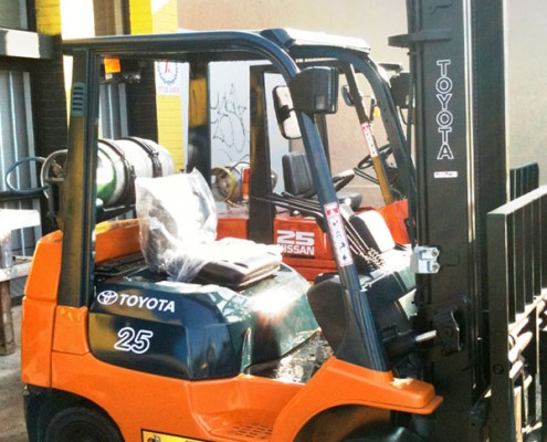 Toyota 2.5 Tonne LPG Secondhand Used Forklift