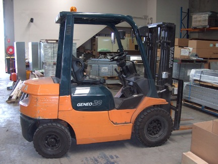 Toyota 2 Tonne 7 Series Used Forklift