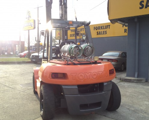 Toyota 7 Tonne LPG Forklift excellent condition